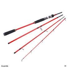Special Sale! Aventik 6ft 7ft 8-12Ib 4SEC High Module Carbon Fiber Travelling Spinning Rod Casting Rod Baitcasting Pole