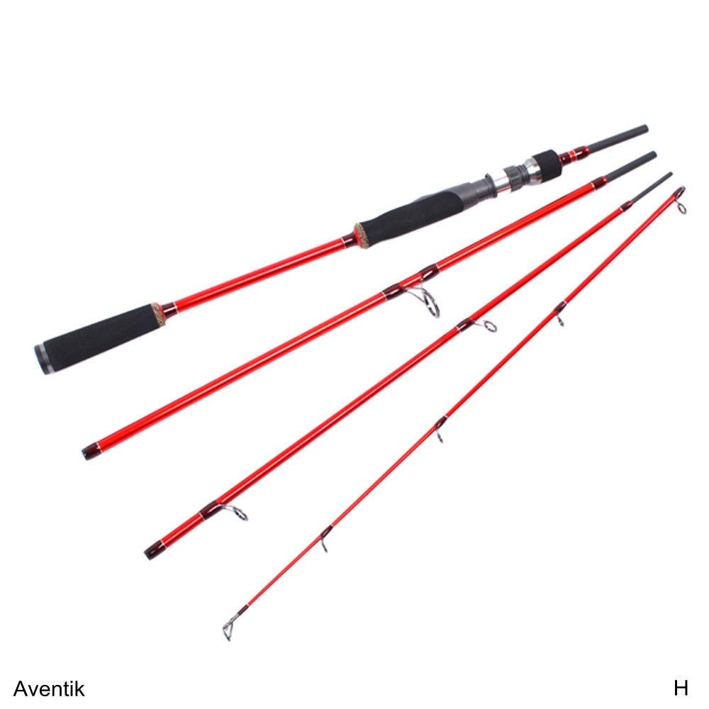 venda especial aventik 6ft 7ft 8 12ib 4sec alta modulo de fibra de carbono viajando haste