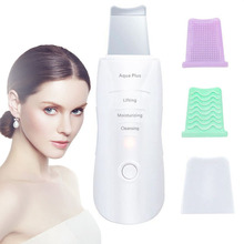 Newest Ultrasonic Skin Scrubber Skin Peeling Extractor Facial Deep Cleaning Beauty Device Skin Care Rejuvenation Facial Cleaner