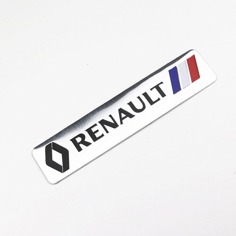3D Car Styling Body Decoration Sticker Badge For Renault Megane 2 3 Duster Logan Clio Laguna 2 Captur Auto Accessories