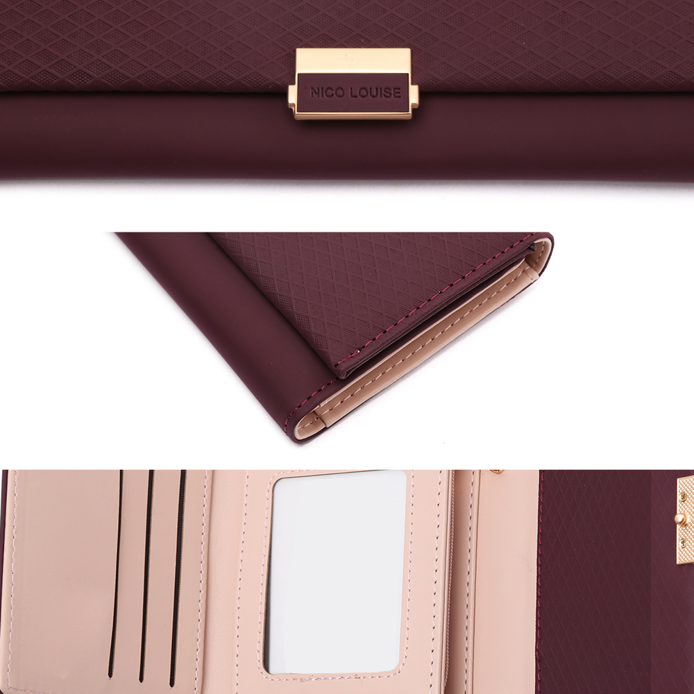 NICO LOUISE Naiste rahakott, 6 värvivalikut 5