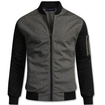412e22efbc De los hombres del estilo británico cuello chaqueta de los hombres de la  moda de mezcla de algodón de manga larga Cardigan chaqueta abrigos para 2018  nuevos ...