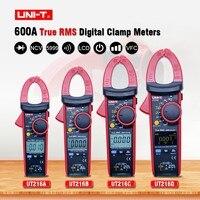 UNI T UT216 series 600A True RMS Digital Clamp Meters Auto Range Multimeters AC Voltage Current Tongs Testers