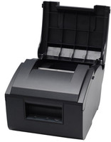 76mm Dot matrix printer High quality print speed fast USB and parallel port /LAN POS Printer double sanlian paper printer knife