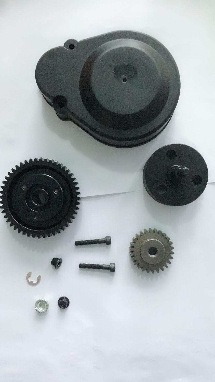 Engrenages à grande vitesse en métal de 48 T/26 T réglés avec la cloche d'embrayage réglée pour 1/5 hpi rovan baja 5b 5 t 5SC
