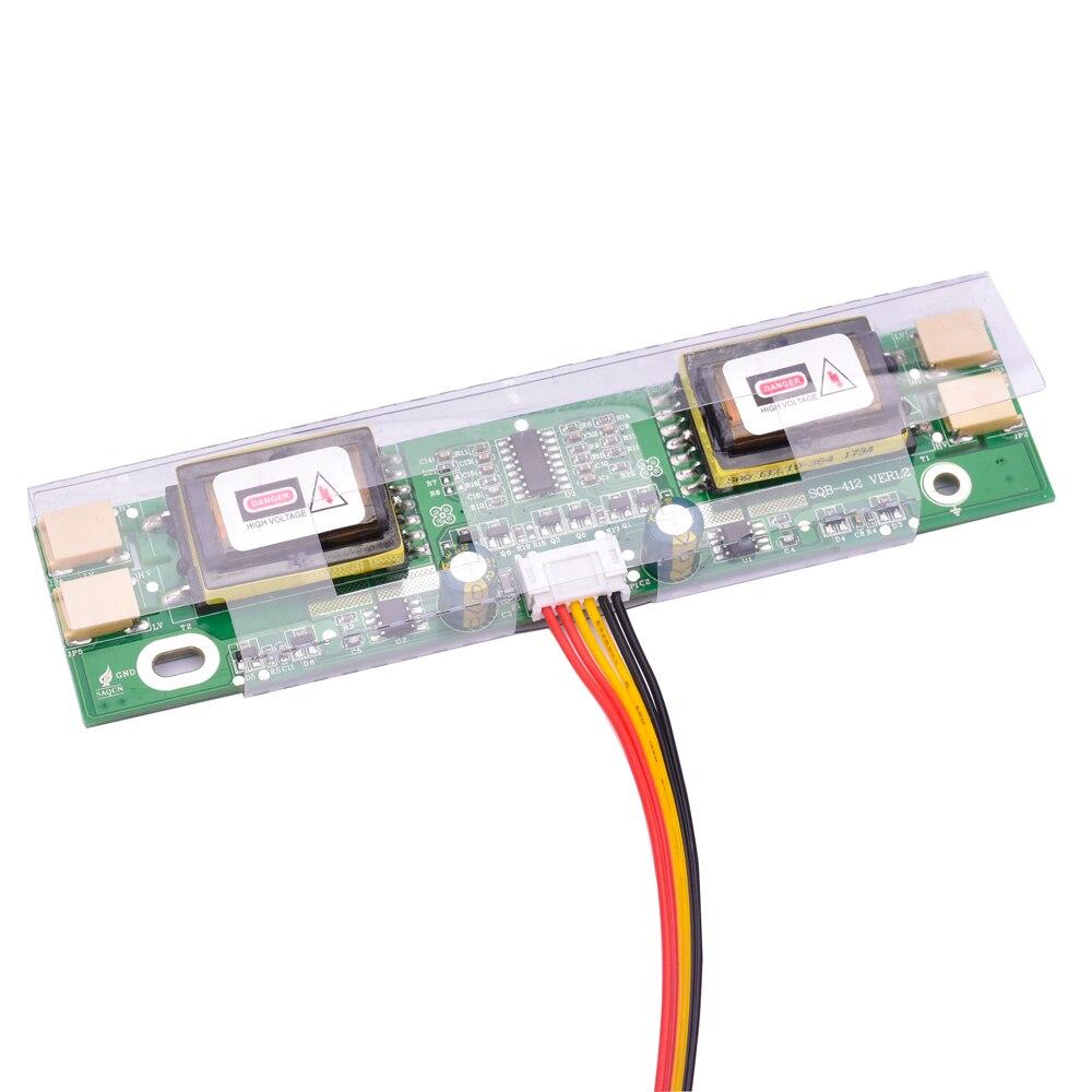 24 zoll 19 zoll 4 stücke CCFL universal inverter hochspannung für lcd screen mit kabel