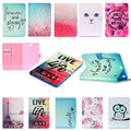 Case For Samsung Galaxy Tab A 9.7 SM-T550 T555 Smart Case Stand Flip Cute Kids Tablet Case Cover w/+film