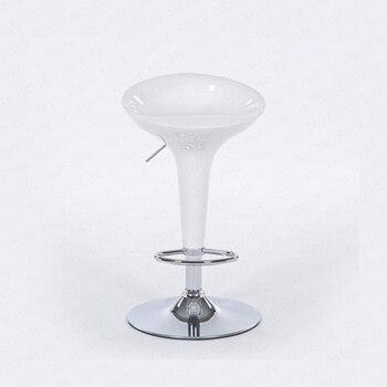 высокие барные стулья | ~ Домашний высокий барный стул подъемный стул современный простой вращающийся высокий стул