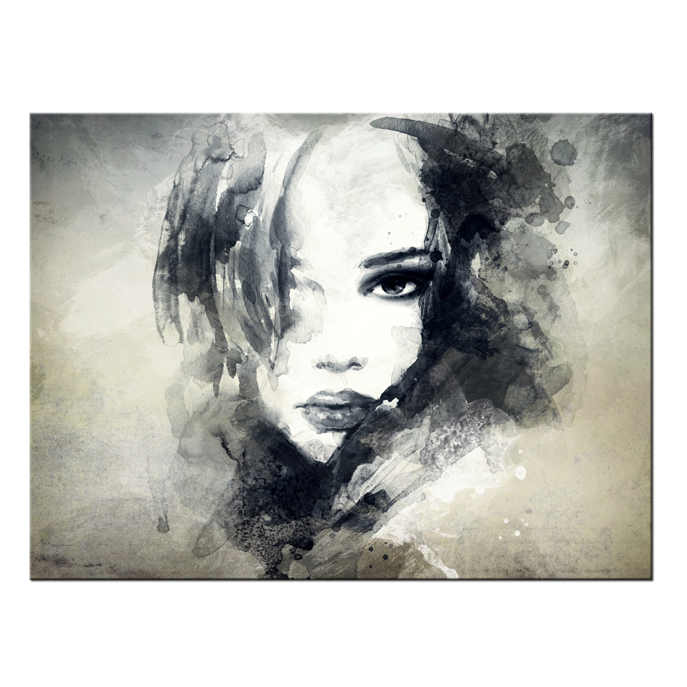 Online buy wholesale contemporary portrait painting from for Buy canvas prints online