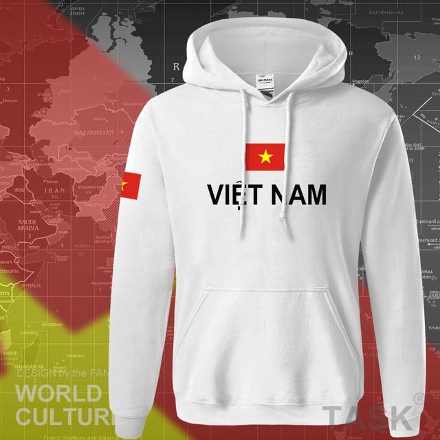 Vietnam hoodies men sweatshirt sweat new hip hop streetwear socceres jerseyes footballer tracksuit nation Vietnamese flag VN 4