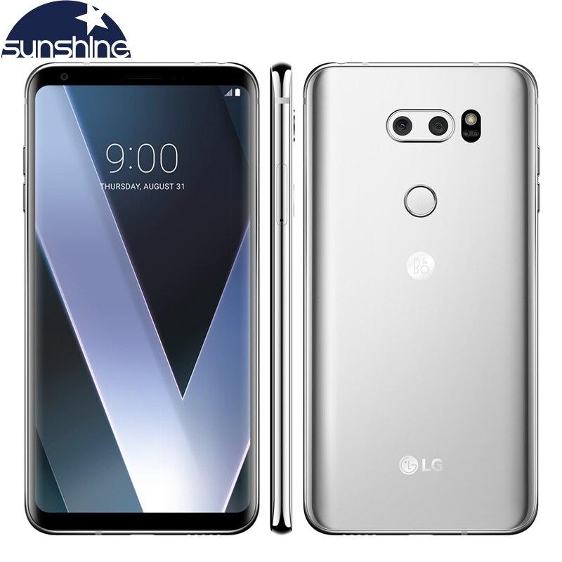 Original desbloqueado LG V30 H931 4G LTE teléfono móvil 6,0 16 MP 4G RAM 64G ROM Octa-core huella dactilar teléfono inteligente