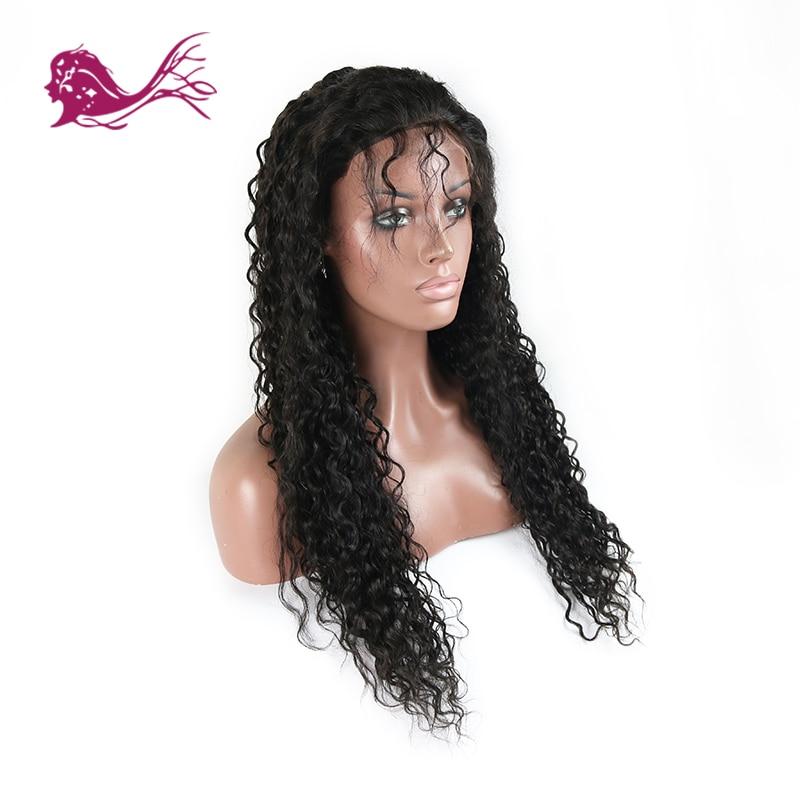 EAYON волос бразильский Волосы remy глубокая волна парики 130% Плотность Полное Кружева натуральные волосы парики для черный Для женщин натураль
