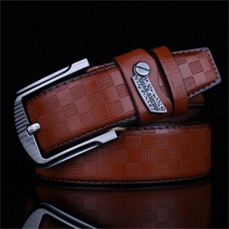 2018 New Mens Fashion Belts Leisure Business Casual Wild High Grade