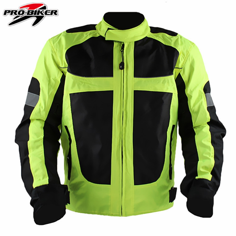 Здесь продается  Free shipping 1pcs spring summer Men Motorcycle Motocross Racing Jacket Reflective Safety Protective Gear Clothes  Автомобили и Мотоциклы