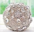 Кот серый ручной элегантный декоративный искусственный горный хрусталь невеста с кристалл крытая свадебный букет цветов
