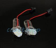 Автомобилей Номерных знаков Лампы СВЕТОДИОДНЫЕ Пользовательская Подсветка Номерного знака Для Toyota Alphard/Corolla Атис (01-07)/ist/Wish (09-)-одна пара