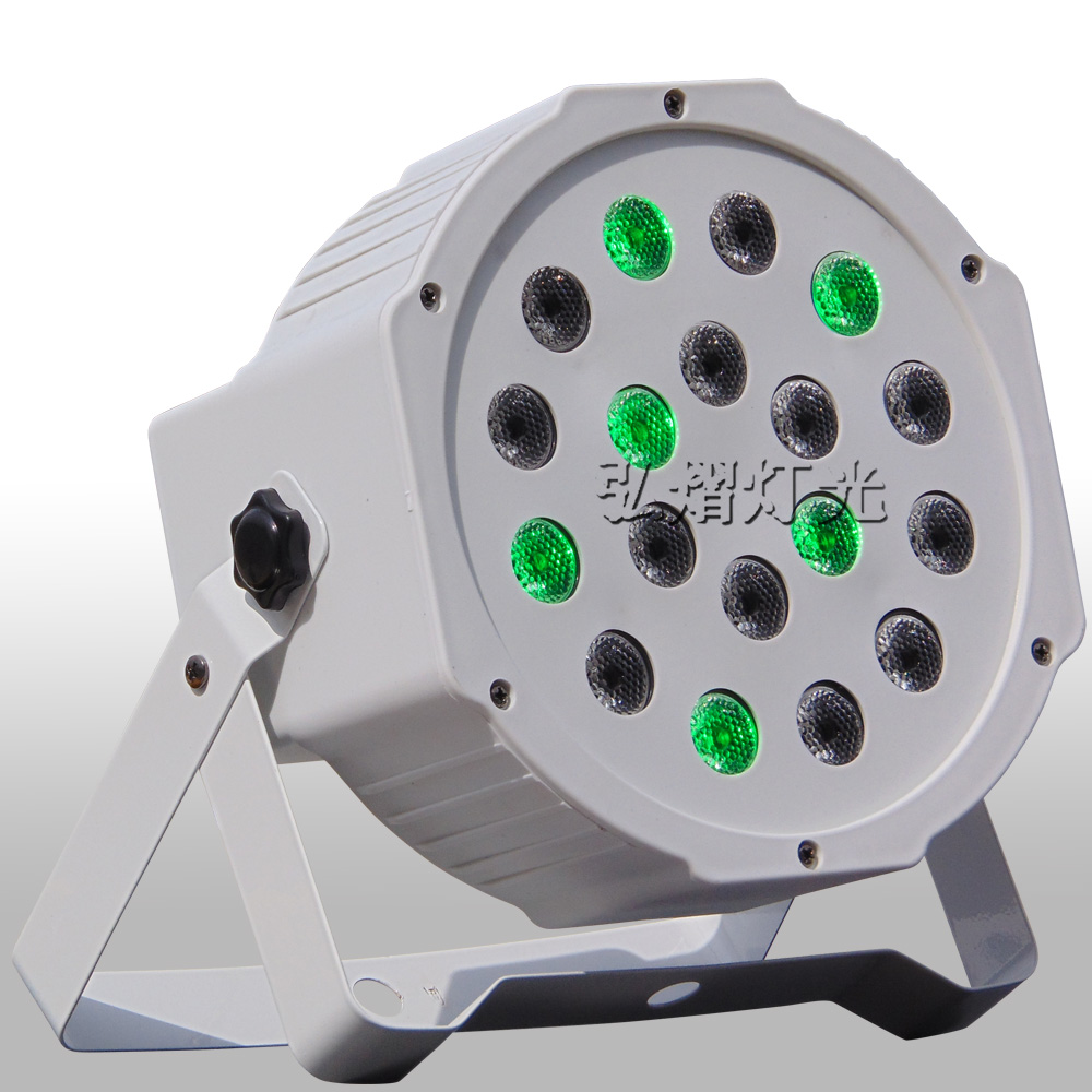 High Quality 18x3w Rgb LED Par Light NO Waterproof DJ Outdoor LED Stage Lights
