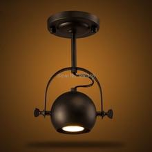 Краткое современный северная европа led потолочные светильники с половиной круглый шар крышка лампы 1 * E27 кафе огни