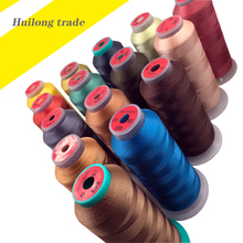 купить 150D/3 high tenacity thread Sewing thread 2000 yards Hand sewing and machine patching Shoe and leather goodss accessorie по цене 207.45 рублей