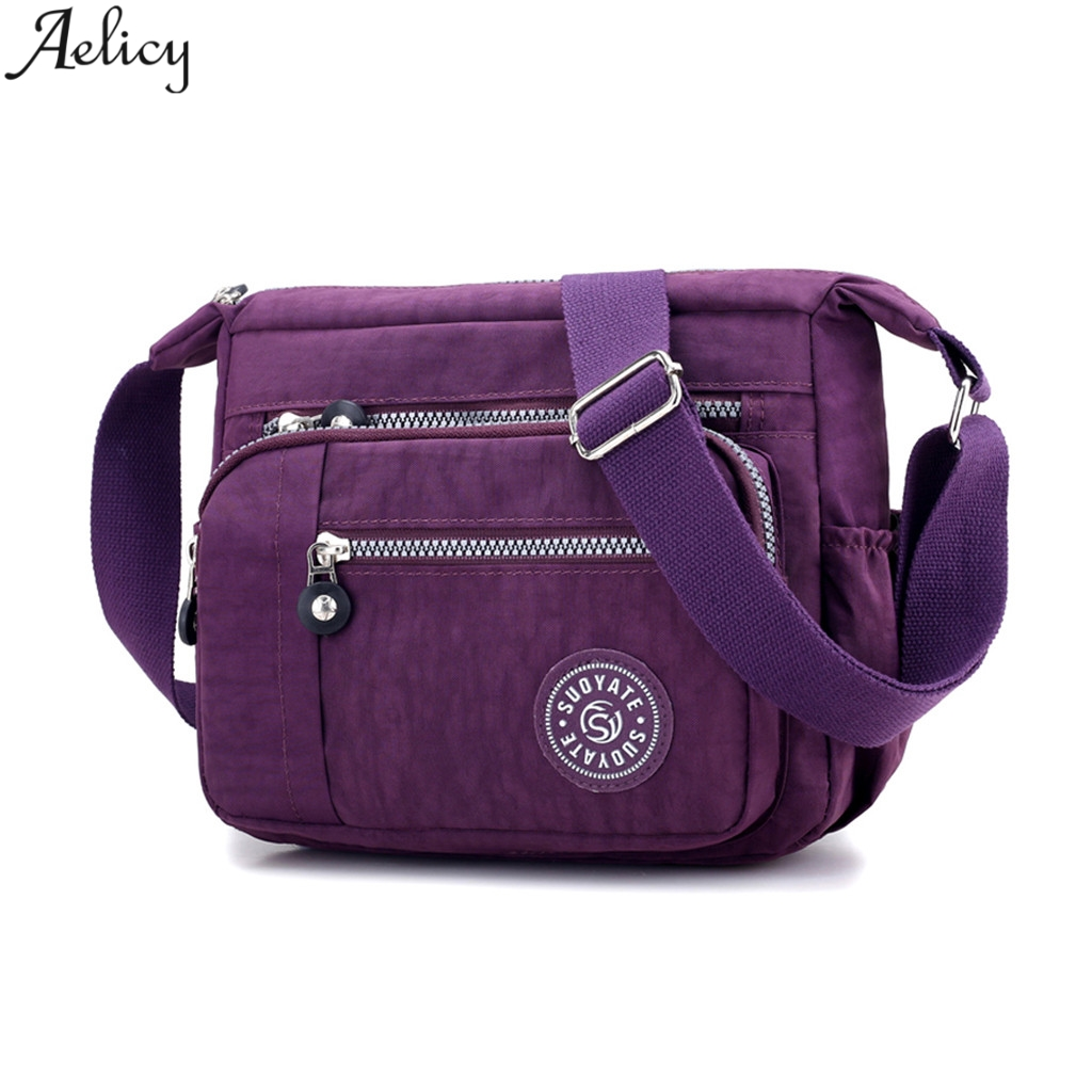 Aelicy Women Summer Casual Nylon Messenger Bag Sports Style Traveling Shoulder Bag Shopping Crossbody Bag New Hot SalesAelicy Women Summer Casual Nylon Messenger Bag Sports Style Traveling Shoulder Bag Shopping Crossbody Bag New Hot Sales