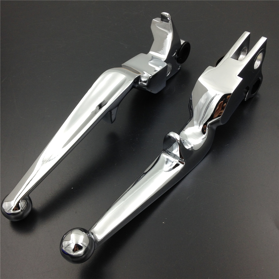 Aftermarket free shipping motorcycle accessories Brake Clutch  Lever for Harley Davidson XL Sportster 883 1200 softail CHROMED 125cc cbt125 carburetor motorcycle pd26jb cb125t cb250 twin cylinder accessories free shipping