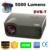Película de cine en casa Multimedia HD proyector portátil HDMI 5500 lúmenes 1280*800 Digital DVB-T TV 3D Led proyector projektor beamer