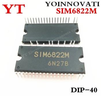 5pcs/lot SIM6822M SIM6822 DIP-40 new original IC Best quality
