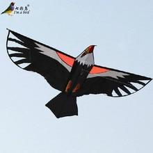 Открытый Забавный Спорт 2 м Мощный воздушный змей в форме сокола/Орел летучие змеи с ручкой и линией хороший Летающий