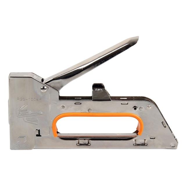 4 6 8mm Steel Staple Gun Tacker Uphol Stery Stapler 2500 Staples