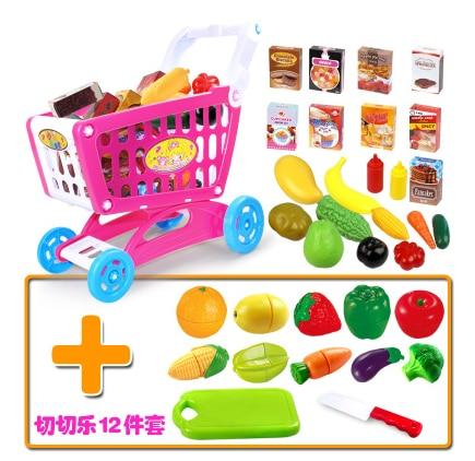 Los ni os jugar carro de compras conjunto de juguete de la - Cocina ninos juguete ...