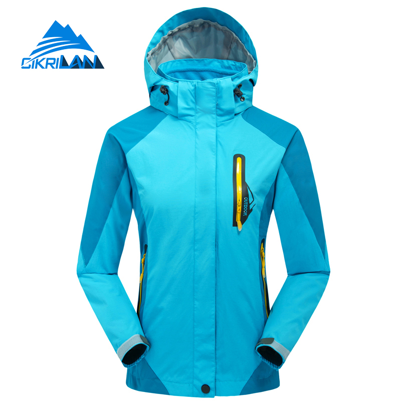 High Quality 3in1 Warm Outdoor Sport Windstopper Chaquetas Mujer Trekking Camping Hiking Winter Jacket Women Climbing Coat цены онлайн