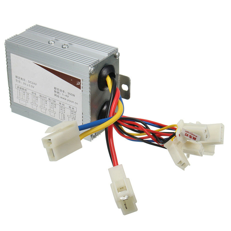 24V 350W  Aluminium Electric Scooter Motor Brush Speed Controller For Vehicle Bicycle Bike Electric Bike Accessories24V 350W  Aluminium Electric Scooter Motor Brush Speed Controller For Vehicle Bicycle Bike Electric Bike Accessories