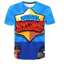 цена на Cartoon Print   Boys Girls  Letter Tops  Popular Animation Print Kids  Tops Short Sleeve T-Shirt Summer Tee  parent-child attire