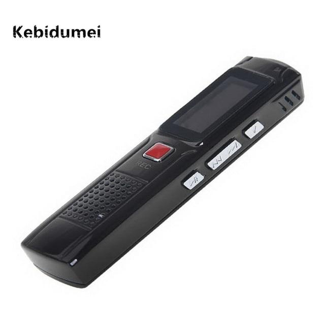 Kebidumei 2017 ミニポータブル 8 ギガバイト隠しデジタル音声レコーダー記録装置と Lcd ディスプレイブラック