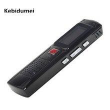 Kebidumei 2017 mini portátil 8 gb escondido dispositivo de gravação de gravador de voz digital com display lcd preto
