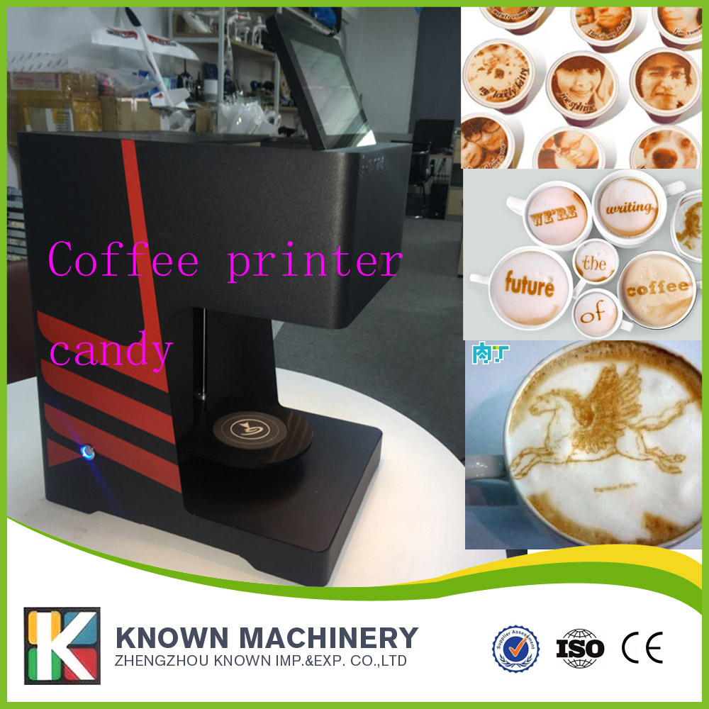 edible ink printer, Automatic selfie coffee photo milk printer Selfie coffee printing machine, 3D coffee printer flsun 3d printer big pulley kossel 3d printer with one roll filament sd card fast shipping