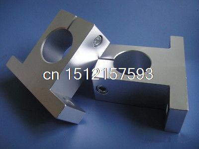 (1)Bearing CNC Aluminum SK50 50mm Rail Linear Motion Shaft Support Series Slide fixmee 1pcs sk20 20mm cnc linear motion ball slide units rail support guide shaft bearing