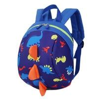 2017 New Anti Lost Kids Backpack Cute Cartoon Dinosaur Animal Prin Children Backpacks For Boys Girl