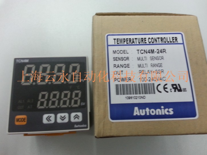 New original authentic TCN4M-24R  Autonics thermostat temperature controller original authentic japanese love die m system controller md7dp 24 spot authentic md7dp 24