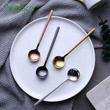 6pcs/lot Stainless Steel Coffee Spoons Flatware Set Teaspoon