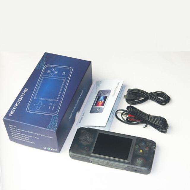 2018 Hot RS-97 RETRO Handheld Game Console Portable Mini Video Game Player MP4 MP5 Playback Built-in 3000/36 Childhood Games