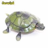 1 Cái Hồng Ngoại Điều Khiển Từ Xa Rùa Động Vật Mô Phỏng Prank RC Rùa Toy với Glowing Mắt