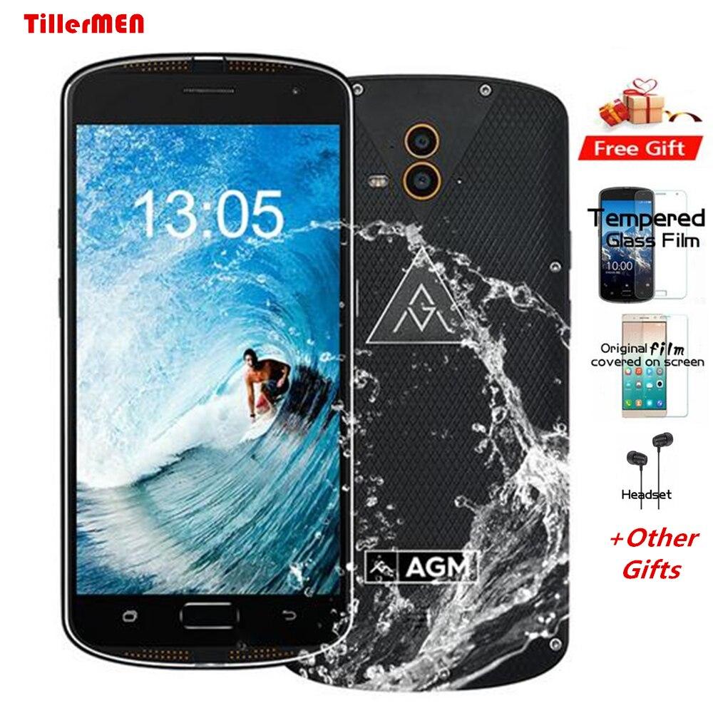 Rungee IP68 Waterproof Phone 6 64GB ROM 4GB RAM OctaCore OTG Double Rear Camera IP68 Fingerprint