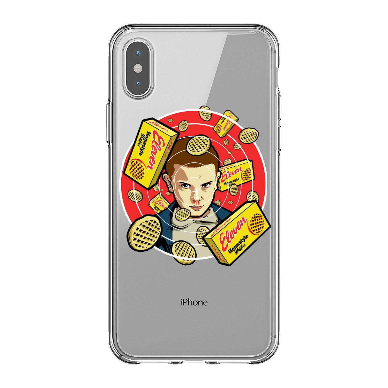 Stranger Things Christmas Lights Case For iPhone 6 6S Plus 5 5S SE 7 7 Plus 8 8Plus X Soft silicone Phone Cover in Half wrapped Cases from Cellphones Telecommunications
