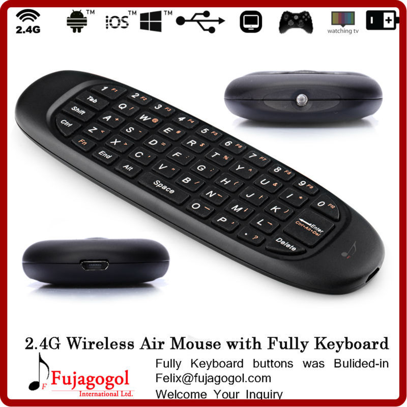 21044da7e95 mini gyration wireless air mouse keyboard for tv samsung smart tv pc  somatic game set top box