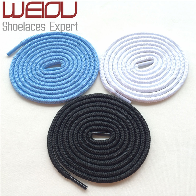 (30pairs/Lot)Weiou Polyester shoestrings flyknit shoe laces long type solid color shoelace Bootlace For AJ Future Boost 350 750