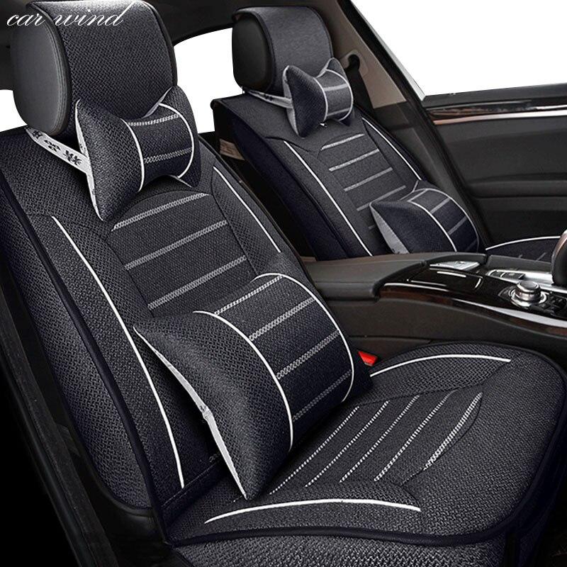 Voiture vent Auto universel automovil housses de siège de voiture pour Prado 120 lifan x60 lancer x chevrolet housse de siège toyota accessoires de voiture