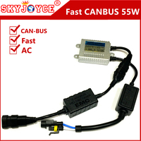 1 X Fast Bright 55W Ignition Block Slim CANBUS Ballast AC Xenon For Hid Kit H4