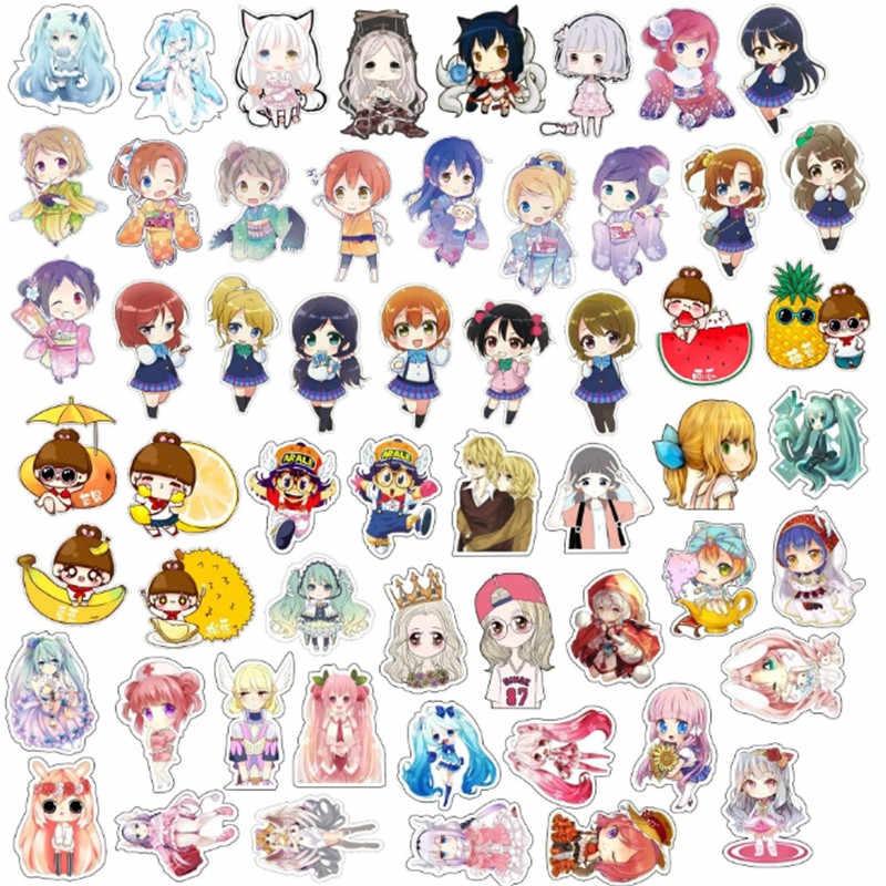 1 PCS Anime menina Bonita ícones mochila acrílico emblemas emblemas para vestuário para passar decorações de desenhos animados ícones no chapéu