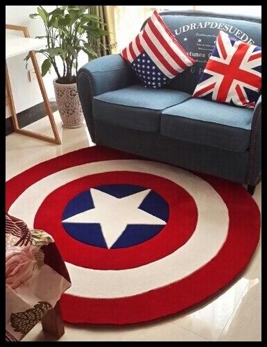 2020 akrilik bahan benang kapten amerika perisai kartun